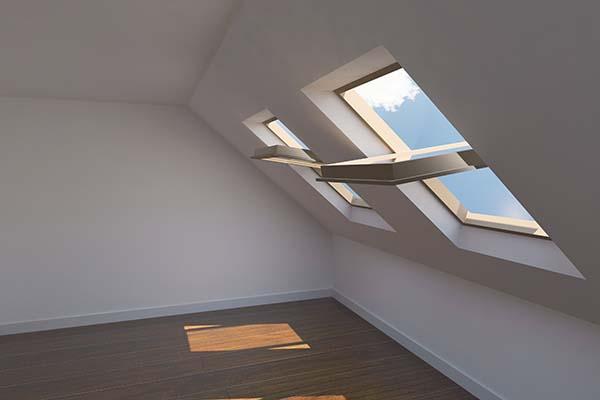 Comment nettoyer des canaux d'écoulement d'eau des fenêtres de toit