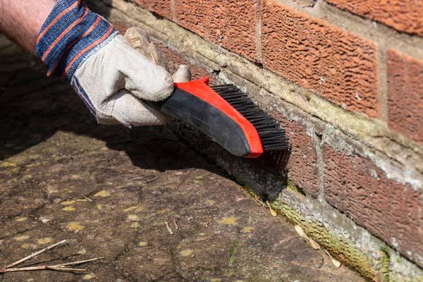Comment nettoyer un mur extérieur