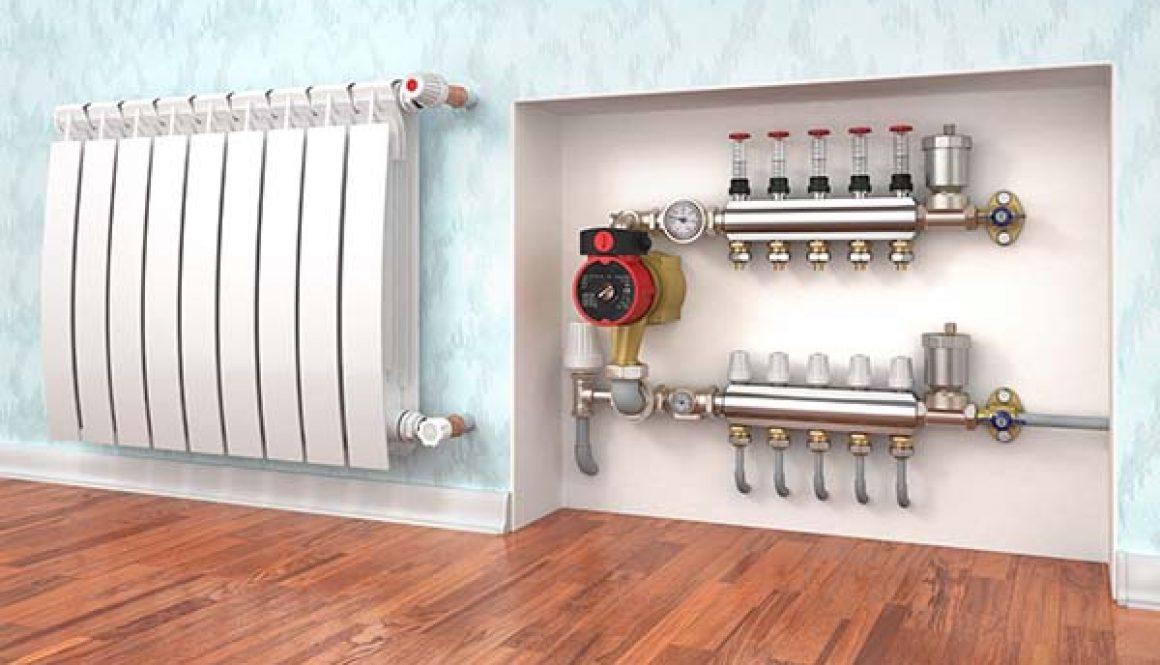 Comment vérifier l'apparition de tartre ou de corrosion dans un circuit de chauffage